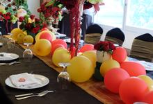 Birthday party of Mrs Ala Alatas & Mrs Amy Atmanto  by latulipe Decoration