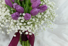 September Wedding Flowers by La Bloom Florist