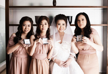Raymond & Novia's Bridesmaid Gift by AEROCULATA