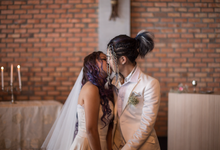 Church Wedding - Koujee+Faye by Nix Studio
