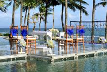 Floating Stage  by Bali Hawila Wedding Organizer