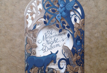 Customised Laser cut Wedding invitation by The Event Artisan