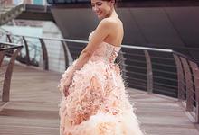 Paris Anna Pre-Wedding Shoot by Stephy Ng Makeup and Hair