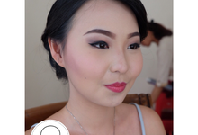 Michael & Esika Wedding by GC Makeup
