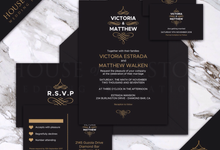 Wedding Invitations by House Of Preston