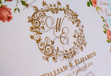 William & Elizabeth Wedding's by Toho Cards