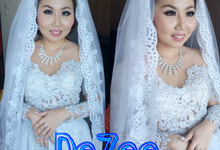Wedding of Shelvany n Budi by deZee Makeup and Wedding service