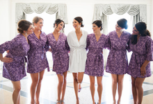Bridesmaids Robes by Modern Kimono