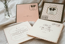 Dust Pink Frame Design by Memoir Paperie