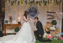 Wedding Decoration by Less Than Three Wedding