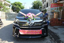 Toyota Vellfire New Model 2016 / 2017 Black by SENTOSA JAYA VIP WEDDING CARS SURABAYA