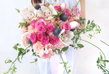 Gardenish pink by Royal Petals