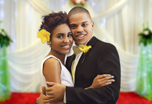 Cartooned Wedding Portraits by cartooned moments