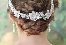 Bridal Headpiece by BRIDE GLAMOR LLC