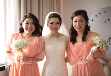 Ferris & Nana • Sweet Peach by MALVA Bridesmaids