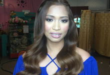 Christie Baltazar's Prenup by Lovely Terrado Makeup Artist