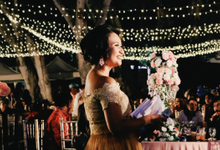 Balinese Wedding Reception of Ina & Dwipa by Tirza Zoraya
