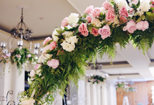 Putra & Claudia's Engagement Day Decor by La Bloom Florist