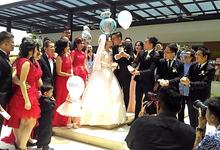 Ian & Caroline's Garden Themed Wedding by AS2 Wedding Organizer