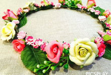 Flower Crown - Import Flowers  by Wedding Needs