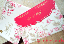 Lydia & Rudy Engagement Invitation's by Toho Cards