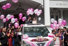 Happy Wedding Satria & Yanti ❤️ (17 Sept '17) by Michael Wedding Car