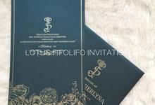 Joko & Sherlyna by Lotus Fifolifo Invitation