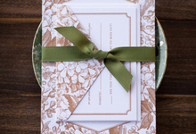 Custom Invitations by Penn & Paperie