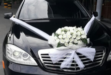 Wedding of Harsoyo and Rika by Michael Wedding Car