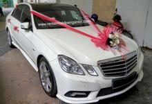Rental Sewa Mercedes Benz E Class White Surabaya by SENTOSA JAYA VIP WEDDING CARS SURABAYA