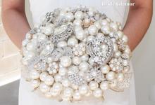 Brooch Bouquet by BRIDE GLAMOR LLC