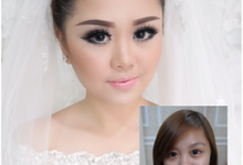 makeupartist-before after by Patricia Bridal