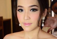 Fransisca n Thanat engagement by Ciel Makeup Artist