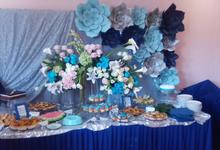 Engagement Dessert Table & Seserahan 2017  by latulipe Decoration