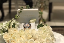 Nada & Saleh Engagement July  2017  by latulipe Decoration