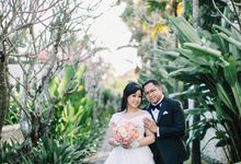 Nilton and Cynthia in Bali by Rufous Events