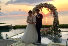 The Wedding Of Mr.Zou Zhi and Ms.Wang Wen by KAMAYA BALI