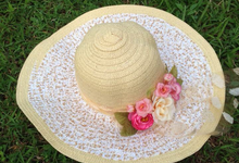 Fashion Hat for your honeymoon / family time by KayCrafty