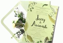Jezzy & Avinash by ids.design