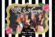 The Wedding of Ressy & Anggara by Woodenbox Photocorner