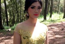Prewedding putri  by YURI Beautify Makeup