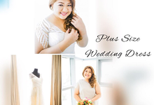 PLUS SIZE WEDDING DRESS by TS BRIDAL BALI