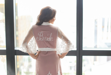 Bridal Budoir   Red by Ingrid Santillan