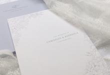 hydrangea dusty blue invitation by Pensée invitation & stationery