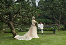 makeup For Prewedding Wina & Faqih by Dewi Julia Lestari