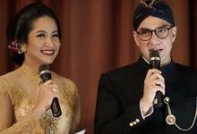 Pras  Sutowo and Icha Tanjung Wedding Reception by Sari Nila