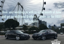 Promotions  by PERFECT WEDDING CAR SG