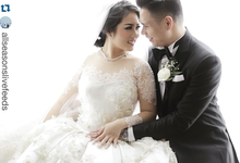 Richard and Lia in Jakarta by Rufous Events