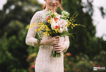Wedding bridal bouquet  by Morning Blooms