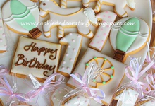 Baby Shower and birthday Royal icing cookies by Cookie Decorating in Singapore